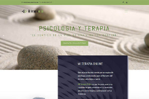 Diseño web Mi Terapia Online